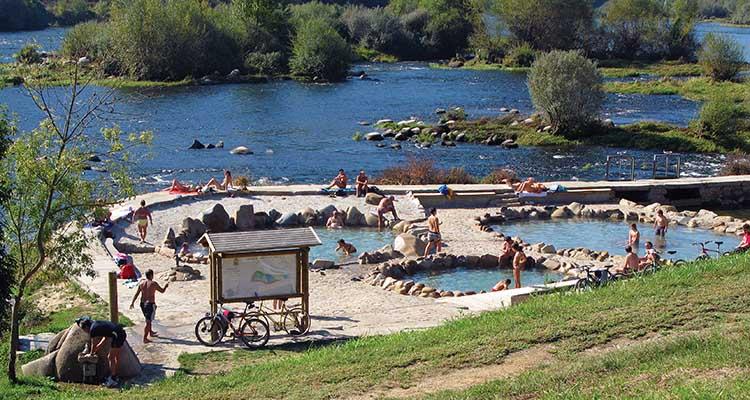 Ourense para so termal cepas y vinos for Piscinas en ourense