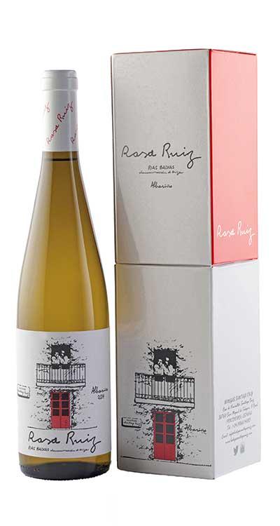 Botella y caja Rosa Ruiz 2014-w